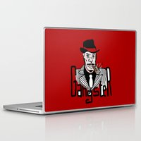 gangster Laptop & iPad Skins featuring Gangster by Logan_J