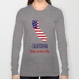 California Rocks Red White & Blue Long Sleeve T-shirt