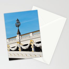 Pont Alexandre IIi - Paris, France Stationery Cards