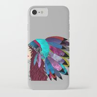 native american iPhone & iPod Cases featuring native american  by Lunah