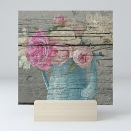 Shabby country home Mini Art Print