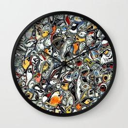 Eyes! Wall Clock