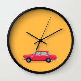 Moskvich 412 Wall Clock