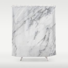 Real Marble 017 Shower Curtain