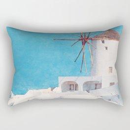 Mediterranean journey-Santorini Rectangular Pillow