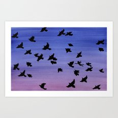 I won't apologize for being a bird Art Print