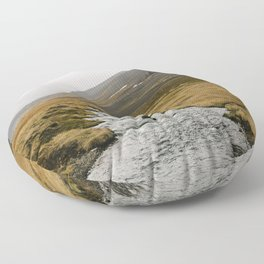 wild iceland Floor Pillow