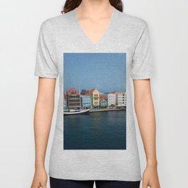 Curacao Unisex V-Neck
