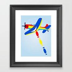 D Day Framed Art Print