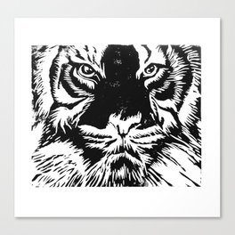 Tiger (Last of the Few) Canvas Print