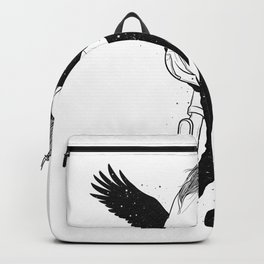 On your way. Backpack