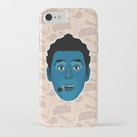 seinfeld iPhone & iPod Cases featuring Cosmo Kramer - Seinfeld by Kuki