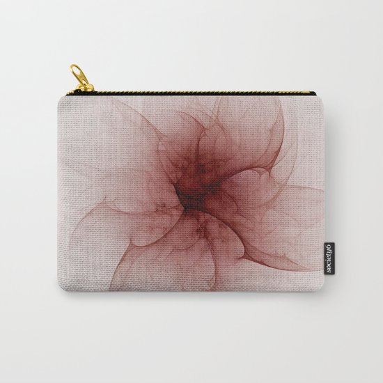 Blood Flower Fractal Carry-All Pouch