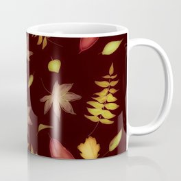 Autumn Leaves Festive Coffee Mug