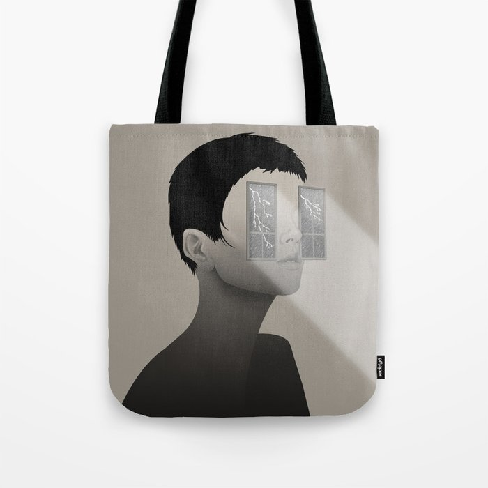 Fury in Your Eyes Tote Bag