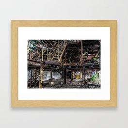 Last Chance Stairway Framed Art Print