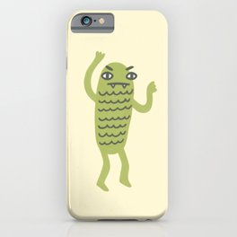 Swamp Monster! iPhone Case