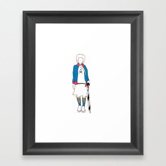 Yuko Framed Art Print