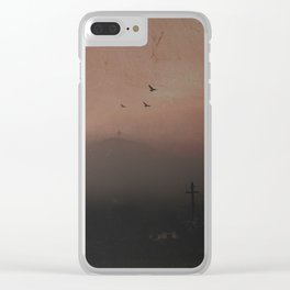 Communication Breakdown Clear iPhone Case