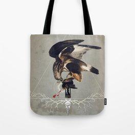 Meme les oiseaux meurent /3 Tote Bag