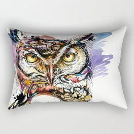 Owl Sounds Rectangular Pillow