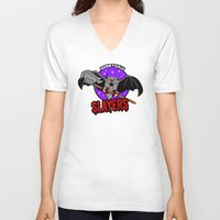 buffy V-neck T-shirts featuring  Slayers by Buby87