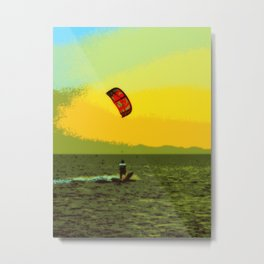 kitesurf sport Metal Print