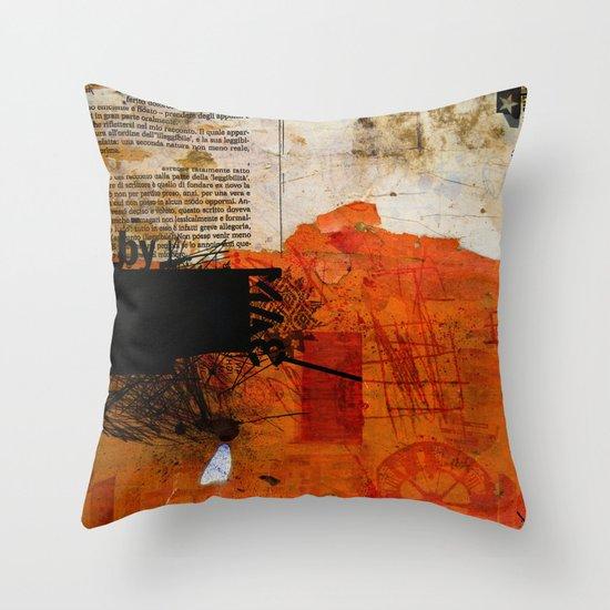 BABEL OVERDUBS IX Throw Pillow
