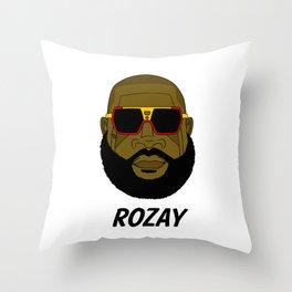 Rozay Throw Pillow