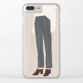 Break the Mules Clear iPhone Case