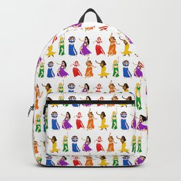 Belly Dancers - Rainbow Colors Backpack