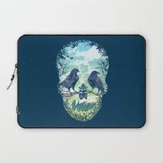 Nature's Skull Laptop Sleeve