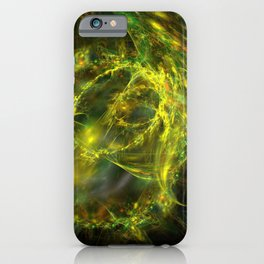 electric lasso fractal design iPhone Case