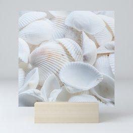 White Shells Mini Art Print