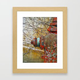 Hydrant No.2 Framed Art Print