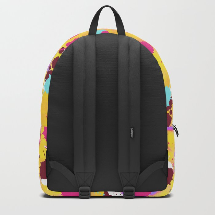 Summer Splash Pop Art Backpack