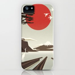 3 vacant logs iPhone Case