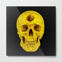 3rd Eye Contact (Yellow) Metal Print