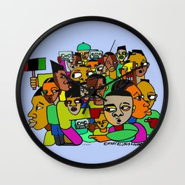 2014 TAPES FROM BROTHER MAN Wall Clock
