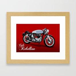 Cafe Rebellion Framed Art Print