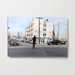 Bushwick, NY Metal Print