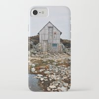 hiking iPhone & iPod Cases featuring Hiking Tasmania by Dan Grady