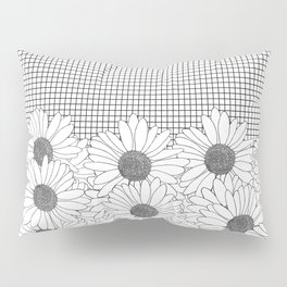 Daisy Grid Pillow Sham
