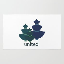 Green united Rug