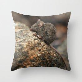 Mouse Mountain Throw Pillow