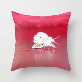 Fall Webworm Moth Throw Pillow