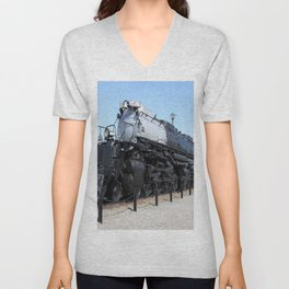 Union Pacific Big Boy Unisex V-Neck