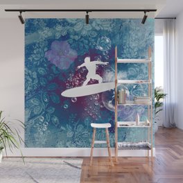 Sport, surfboarder Wall Mural