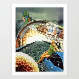Aim-9 Sidewinder Art Print