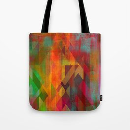 Lattice Work Tote Bag